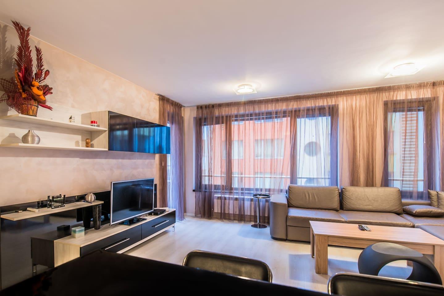 Лукс 1BD Suite, ограничен достъп, най-добрата плоска стая