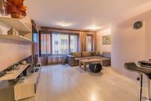Лукс 1BD Suite, ограничен достъп, най-добрата зона 6 FlatAway