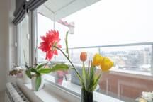 Слънчев 1-BDR в Банишора   Паркинг и балкон 20 FlatAway