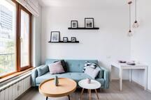 Скандинавски апартамент в централно местоположение близо до Витошка 41 FlatAway